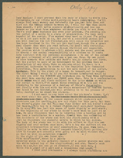 A page of typed text.