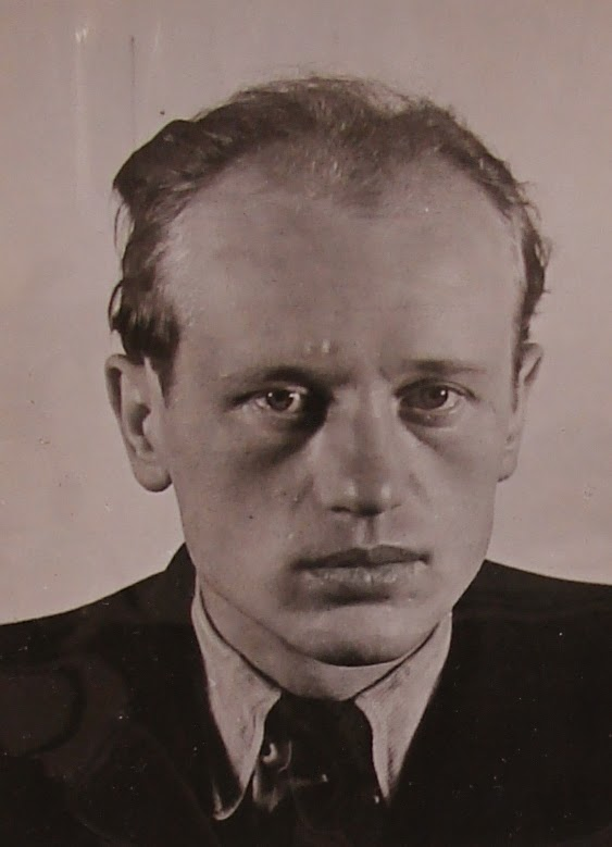 Karel Richter, 1941.  (from National Archives - Secret Service files)