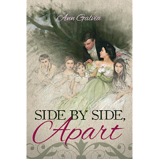 Book cover: Side by Side Apart by Ann Galvia
