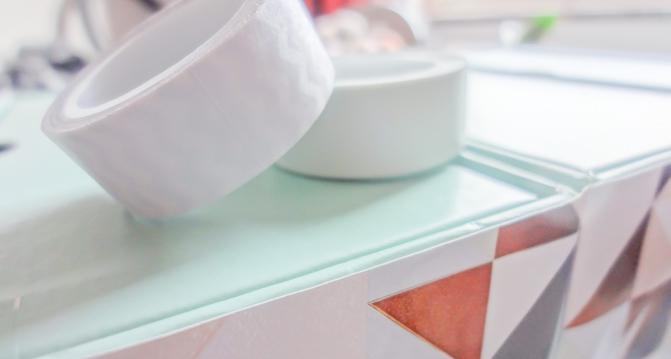 DIY - Aufbewahrung aus Beautyboxen