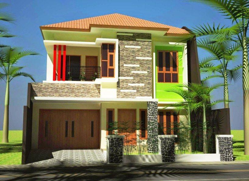 Foto Desain Rumah Minimalis Tampak Depan 2 Lantai