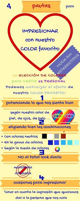 Vestir; moda; combinar colores; sentirse bien
