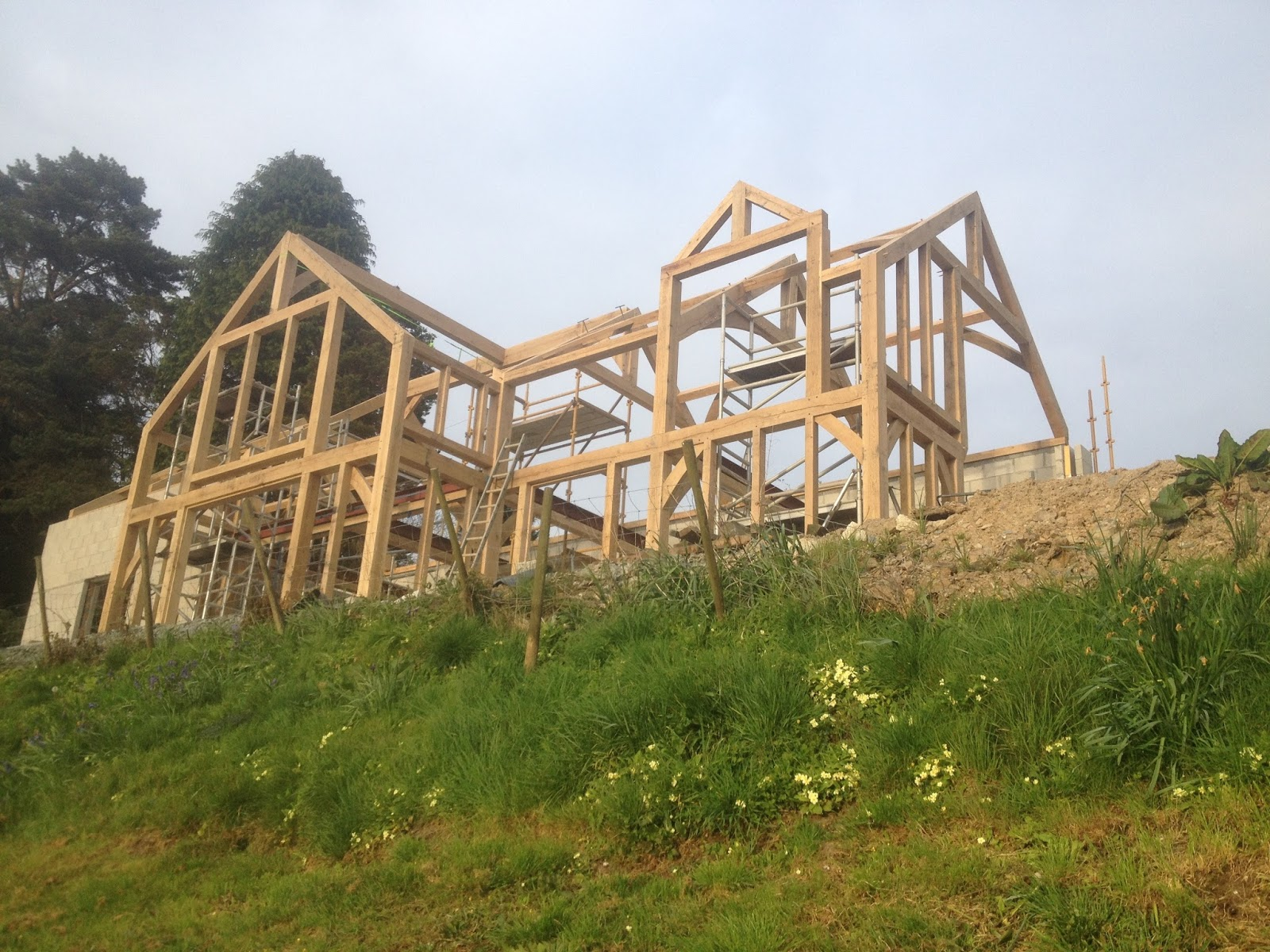 trengayor wood works oak framed houses in cornwall and devon