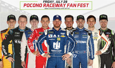 Detailed #NASCAR Schedule for Pocono and Iowa