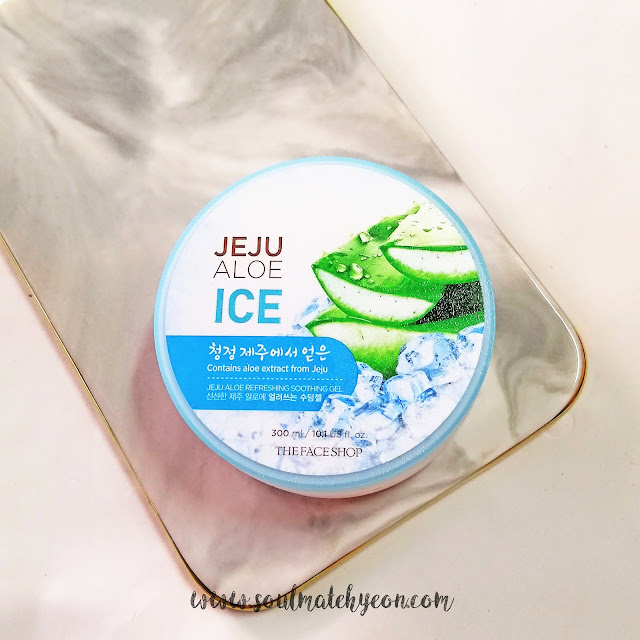 Review; The Face Shop's Jeju Aloe Ice Refreshing Soothing Gel