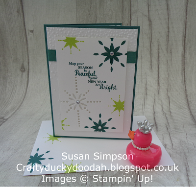Stampin' Up! UK Independent  Demonstrator Susan Simpson, Craftyduckydoodah!, Star of Light, Starlight Thinlits, November Coffee & Cards Project 2017, Supplies available 24/7 from my online store,