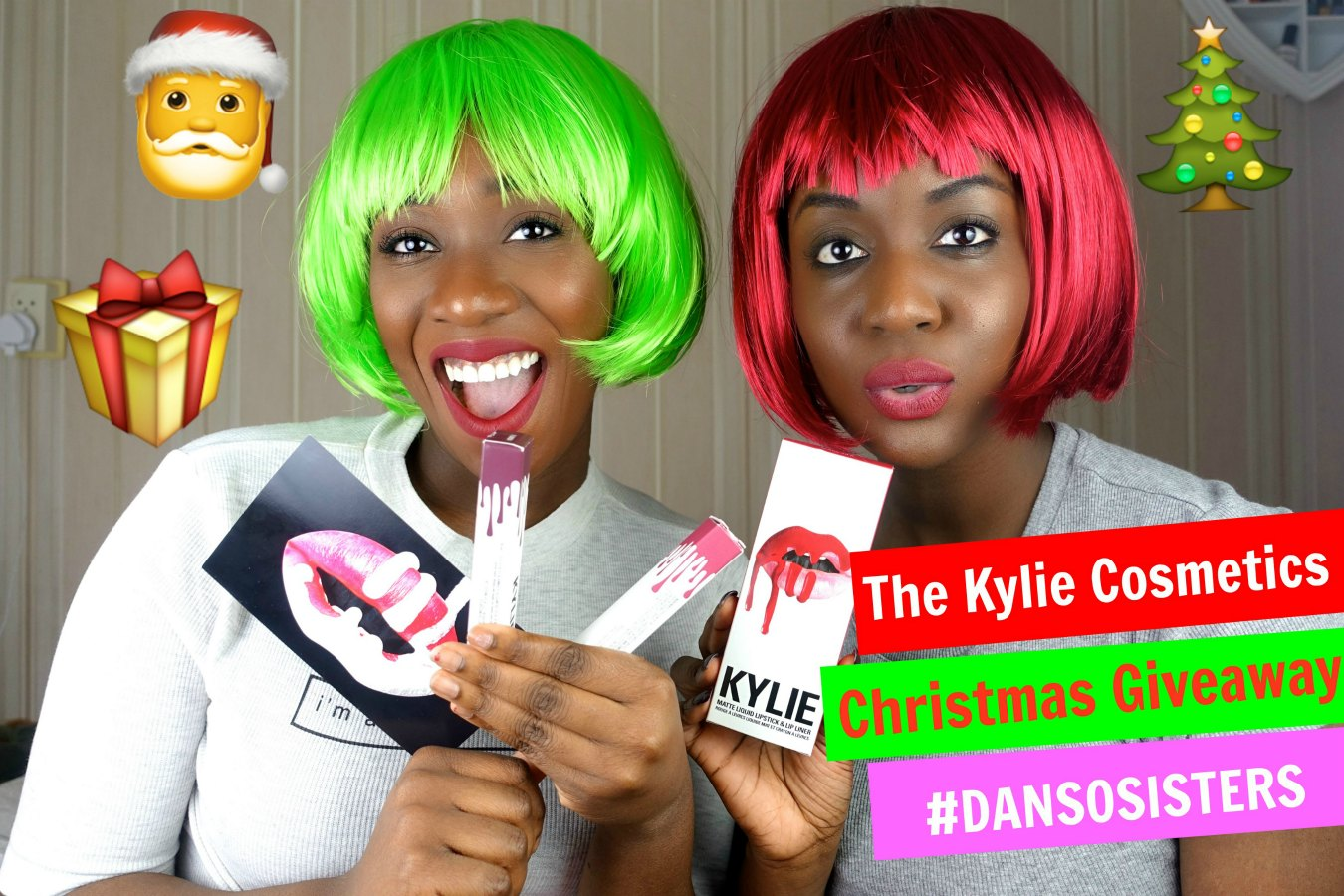 The Kylie Cosmetics Christmas Giveaway dansosisters