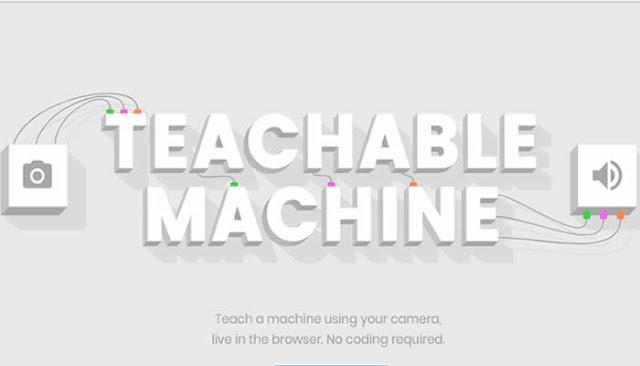 Google lança site que permite treinar inteligência artificial pelo navegador.