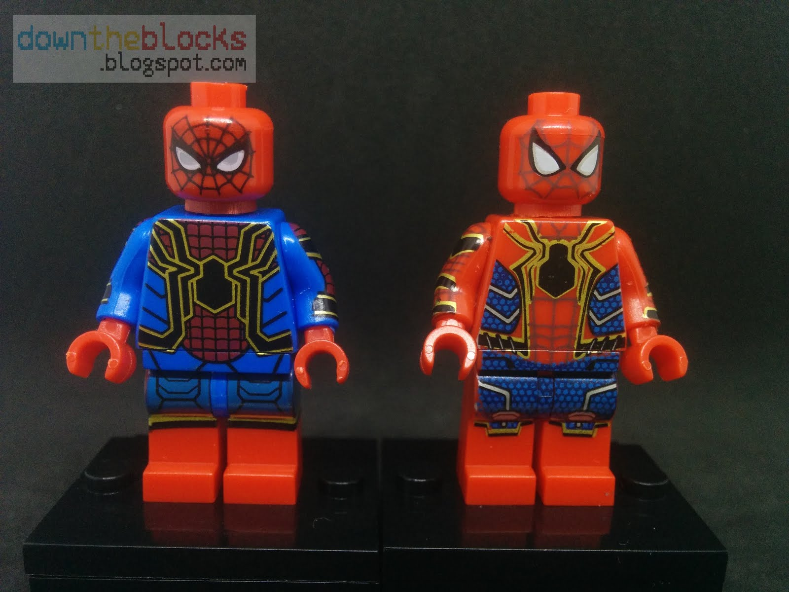 downtheblocks: POGO PG305, PG350: MCU Iron Spider aka ...