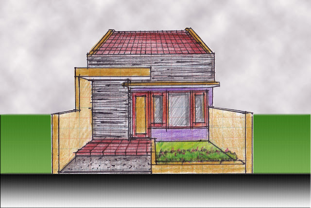 view of house plan A-02
