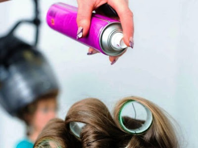 hairspray / semprot rambut saat hamil