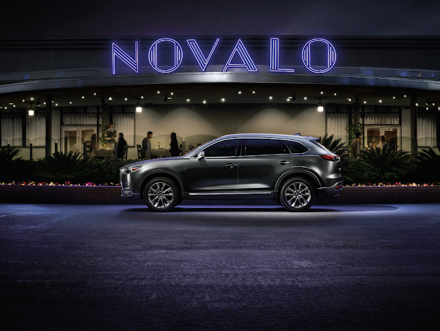 Side view of 2019 Mazda CX-9