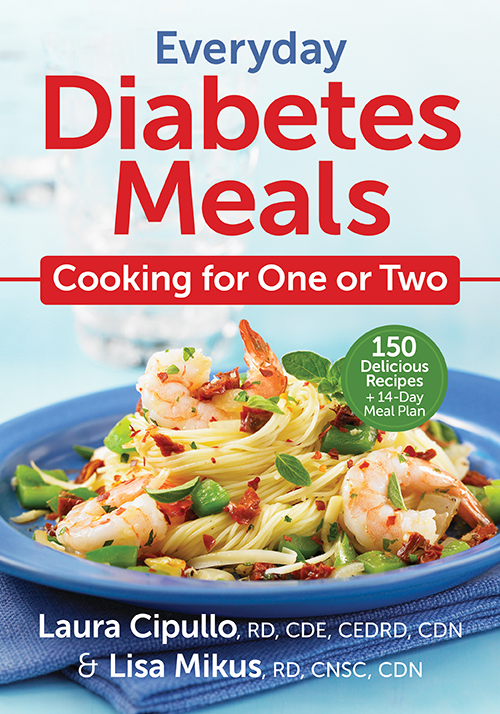 Everyday Diabetes Meals Cooking for One or Two ~ #Review #Giveaway