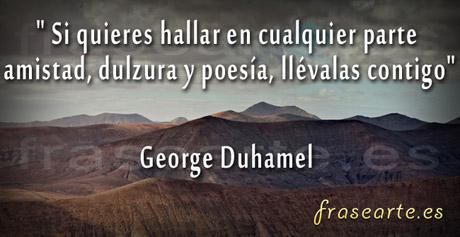 Frases de amistad, George Duhamel