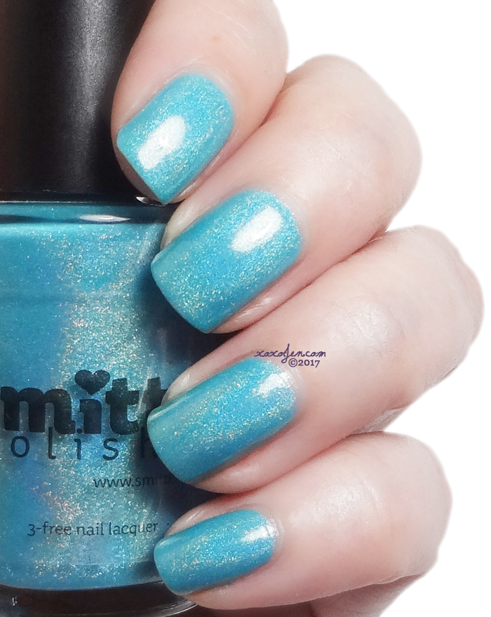 xoxoJen's swatch of Smitten Himalayan Blue Poppy