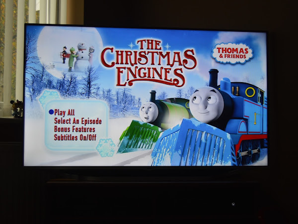Thomas and Friends - The Christmas Engines DVD Review