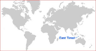 image: East Timor Map Location