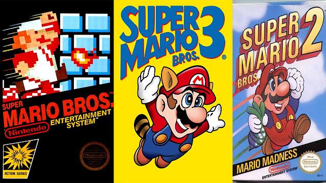 Super Mario 3 En 1