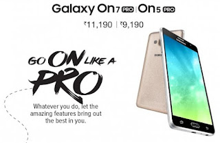 Samsung Galaxy On5 Pro dan On7 Pro