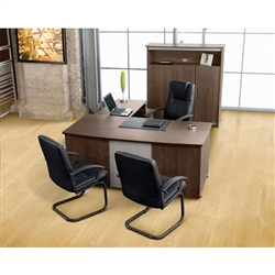 Venice Executive Desk Set by OFM