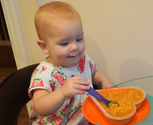 Our Weaning Journey with HiPP October Update