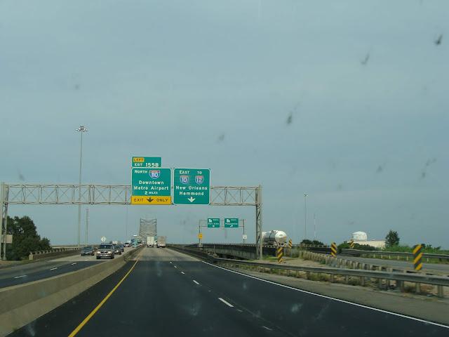 Auf unserem Weg durch Louisiana waren wir kurz vor New Orleans zum Umdrehen gezwungen