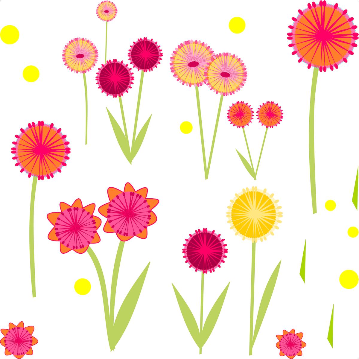 Flower paper freebies