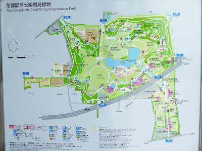 花博記念公園鶴見緑地 案内図