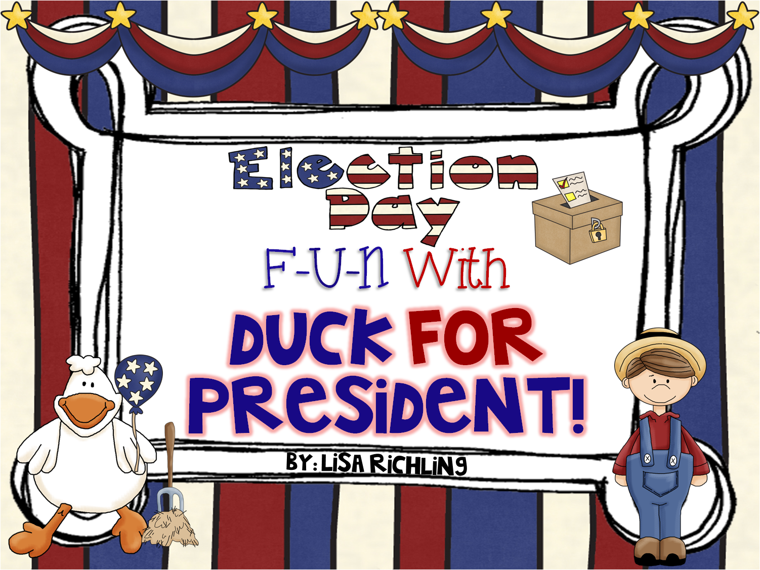 Learning Is Something To Treasure Election Fun With Duck