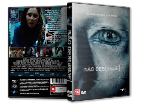 Capa DVD Não Desligue [Exclusiva]