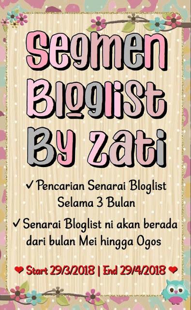 Segmen Bloglist by Zati