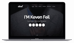 Ideal Responsive Resume Blogger Template 2018