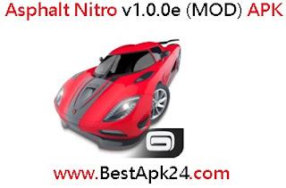 Asphalt Nitro v1.0.0e (MOD) APK Unlimited Money