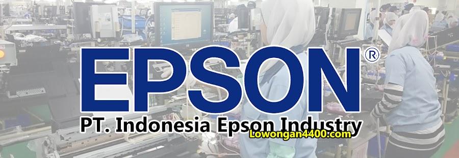 Lowongan Kerja Pt Indonesia Epson Industry Iei Kawasan Ejip Cikarang