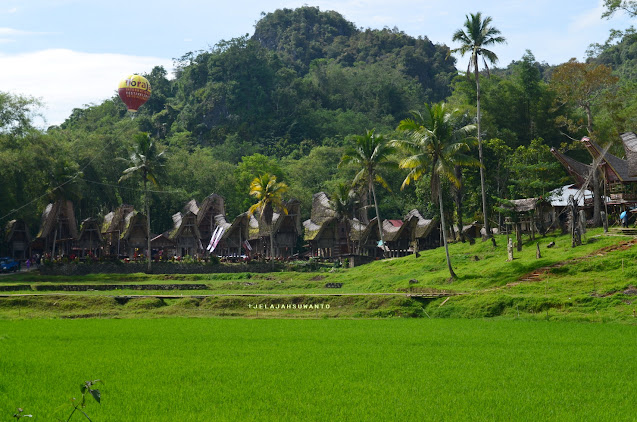 Kompleks Desa Adat Kete Kesu, salah satu ikon Tana Toraja  || jelajahsuwanto