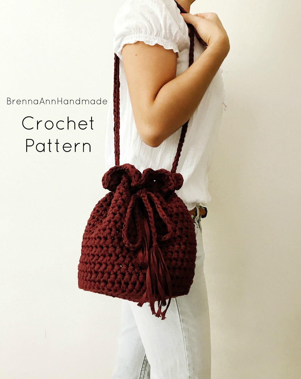 Brenna Ann Handmade: NEW Crochet Pattern - The Sunset Purse