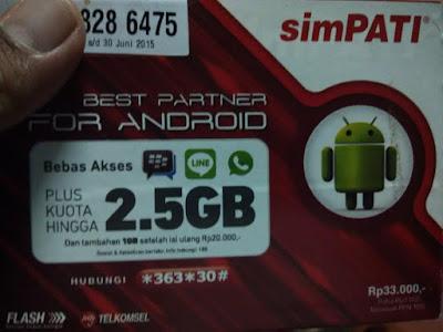 Rekomendasi Paket Internet Terbaik Untuk Android, Tablet dan Modem