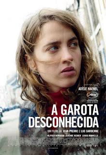 """Poster do filme """"A Garota Desconhecida"""""""