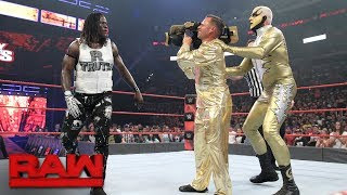 Golden Truth R-Truth Goldust Monday Night Raw