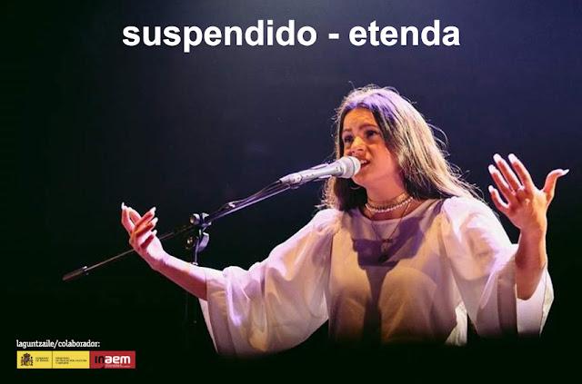 concierto de Rosalía suspendido en el Teatro Barakaldo
