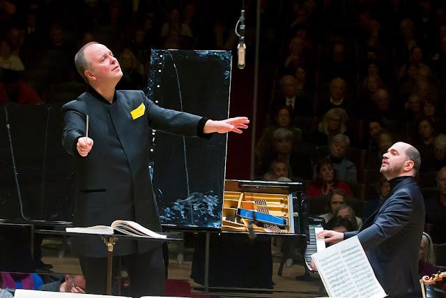 Busoni: Piano Concerto - Kirill Gerstein, Sakari Oramoin, Boston Symphony Orchestra 10/3/17 (Photo Winslow Townson)