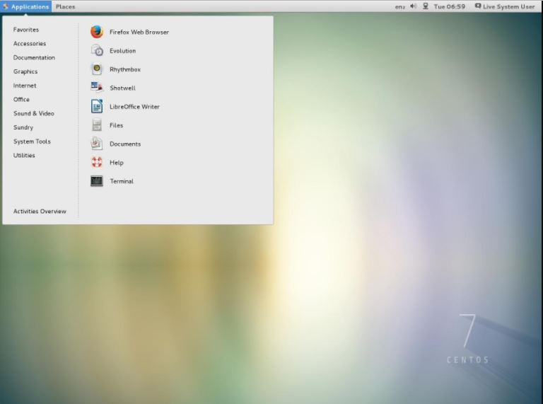 Centos best linux distro for business desktop