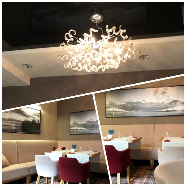 restaracja trzy romanse, hotel wieniawski, lublin, wnętrze restauracji