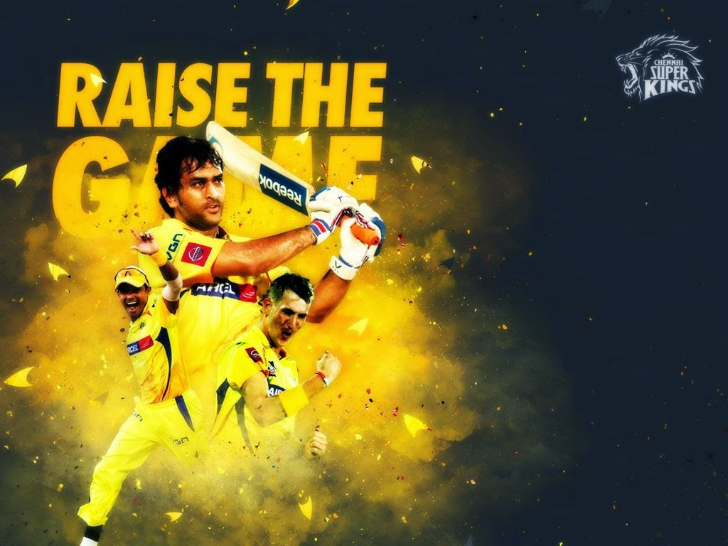 IPL 8 2015 Chennai Super Kings (CSK) Team Jersey, Logo, HD