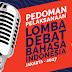 Pedoman Lomba Debat Bahasa Indonesia (LBDI) 2017