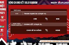 Lịch thi đấu vòng chung kết AoE Việt Trung 2021