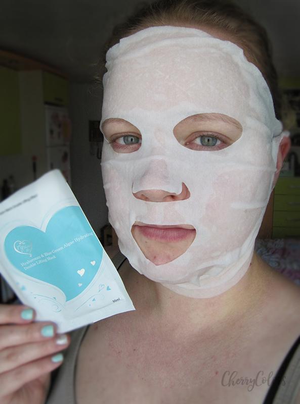 using a sheet mask