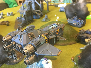 40k SW vs GSC Stormfang Gunship arrives in fury