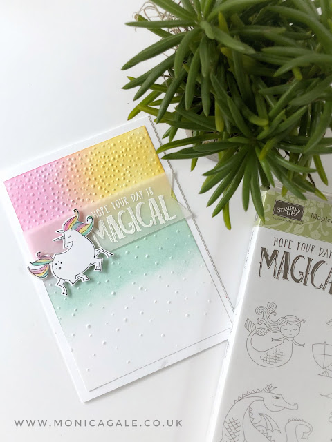 Stampin Up Unicorn Ideas with Monica Gale