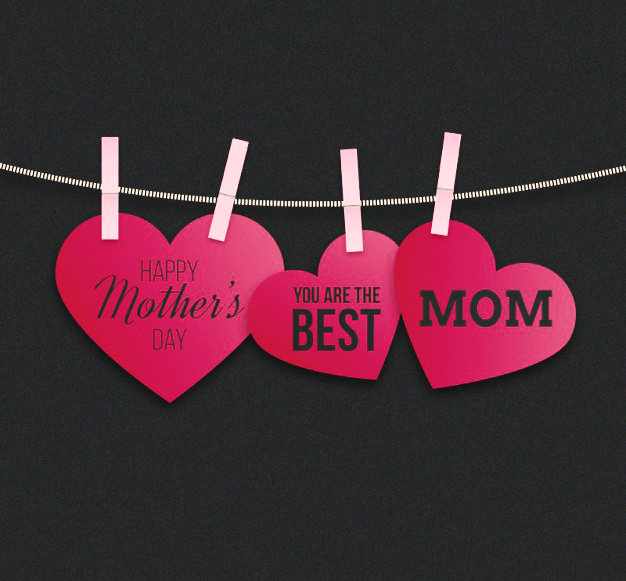 The Best Mom   Beautiful Happy Mothers Day Images